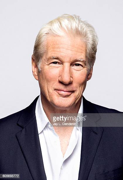 Actor Richard Gere from the film 'Norman' poses for a portraits at the Toronto International Film Festival for Los Angeles Times on September 12 2016...