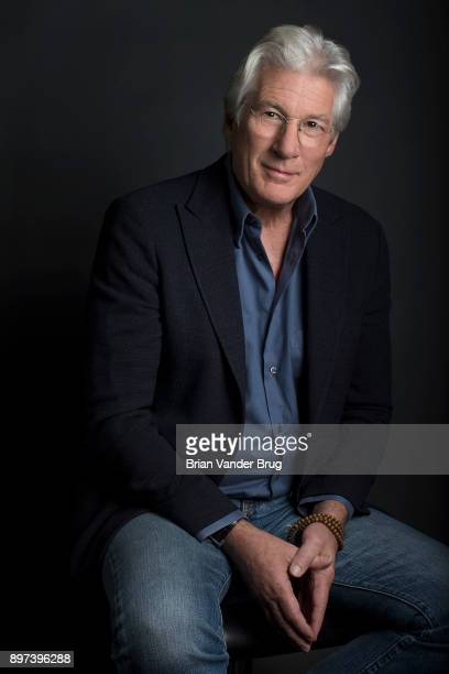 Actor Richard Gere is photographed for Los Angeles Times on November 12 2017 in Los Angeles California PUBLISHED IMAGE CREDIT MUST READ Brian van der...