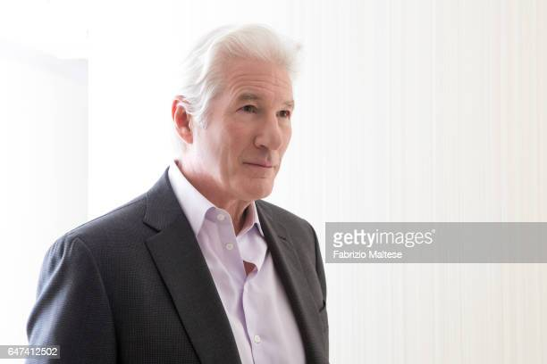 Actor Richard Gere is photographed for The Hollywood Reporter on February 13 2017 in Berlin Germany