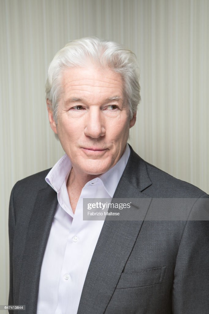 Actor Richard Gere is photographed for The Hollywood Reporter on February 13, 2017 in Berlin, Germany.