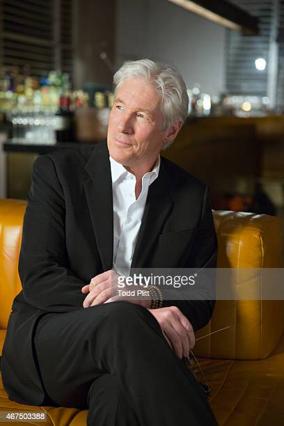 Actor Richard Gere is photographed for USA Today on March 3 2015 in New York City PUBLISHED IMAGE