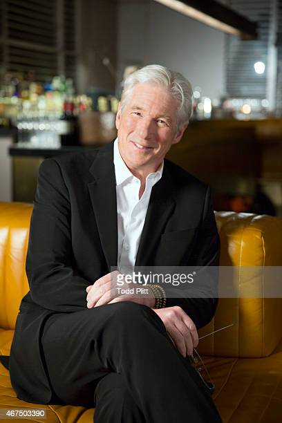 Actor Richard Gere is photographed for USA Today on March 3 2015 in New York City