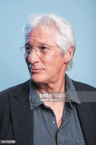 Actor Richard Gere of 'Three Christs' is photographed at the 2017 Toronto Film Festival on September 14 2017 in Toronto Ontario