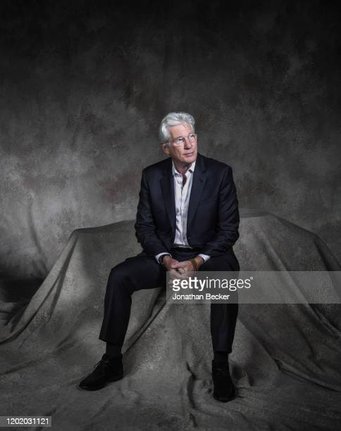 Actor Richard Gere poses for a portrait at the Savannah Film Festival on November 4 2017 at Savannah College of Art and Design in Savannah Georgia