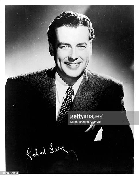 Actor Richard Greene poses for a portrait in circa 1944