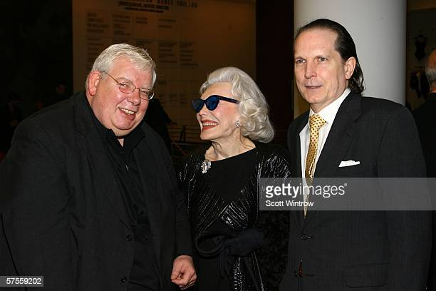 Actor Richard Griffiths Ann Slater and John Kay Hill arrive at the Bringing Balanchine Back gala screening hosted by Peter Martins at The Joan Weill...