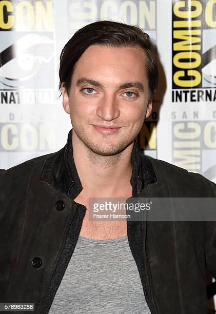 Actor Richard Harmon attends The 100 Press Line during ComicCon International 2016 at Hilton Bayfront on July 22 2016 in San Diego California