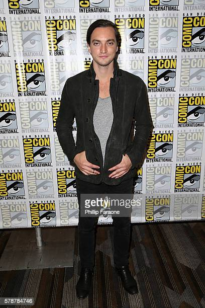Actor Richard Harmon of 'The 100' attends ComicCon International 2016 on July 22 2016 in San Diego California