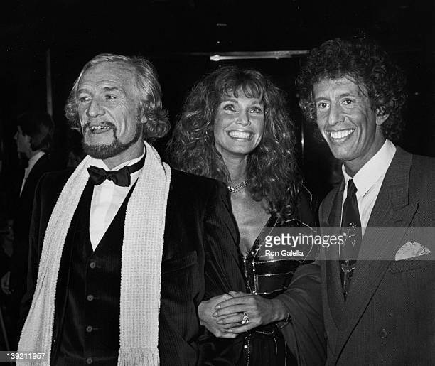 Actor Richard Harris actress Ann Turkel and music producer Richard Perry attending Electra Asylum Record Party for Richard Perry on November 2 1981...