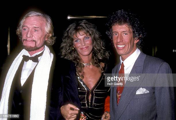 Actor Richard Harris Actress Ann Turkel and Music Producer Richard Perry attend the Electra/Asylum Records' Party for Music Producer Richard Perry on...