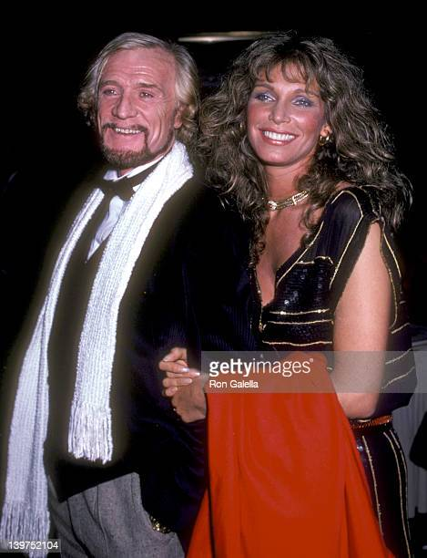 Actor Richard Harris and Actress Ann Turkel attend the Electra/Asylum Records' Party for Music Producer Richard Perry on November 2 1981 at the...