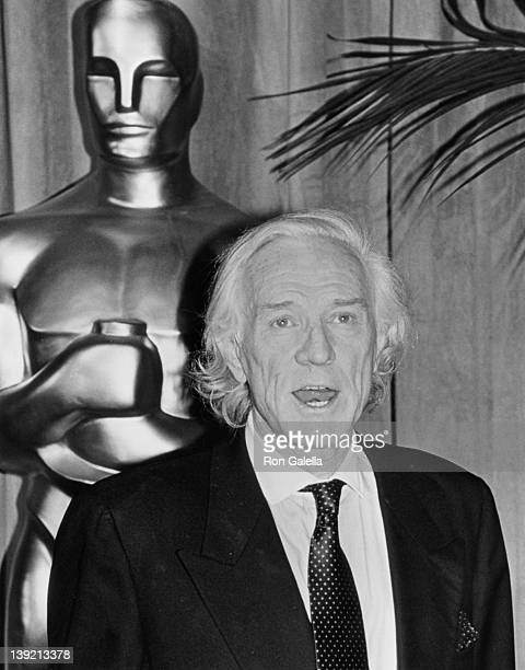Actor Richard Harris attending Nominees Luncheon for 63rd Annual Academy Awards on March 19 1991 at the Beverly Hilton Hotel in Beverly Hills...