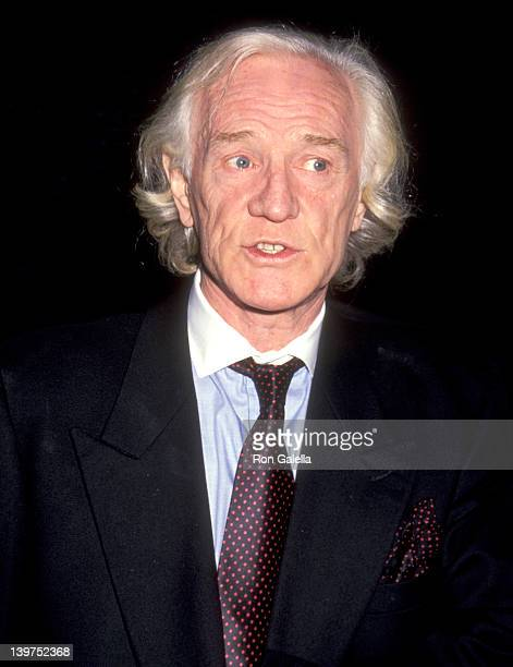 Actor Richard Harris attends the 28th Annual Publicists Guild of America Awards on March 22 1991 at Beverly Hilton Hotel in Beverly Hills California