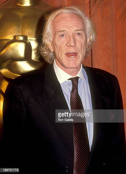 Actor Richard Harris attends the 63rd Annual Academy Awards Nominees Luncheon on March 19 1991 at Beverly Hilton Hotel in Beverly Hills California