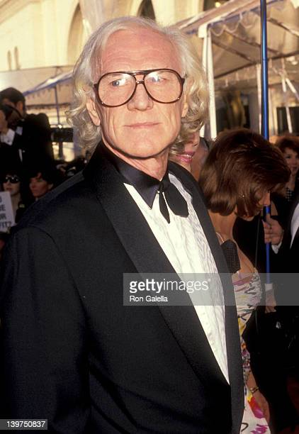 Actor Richard Harris attends the 63rd Annual Academy Awards on March 25 1991 at Shrine Auditorium in Los Angeles California