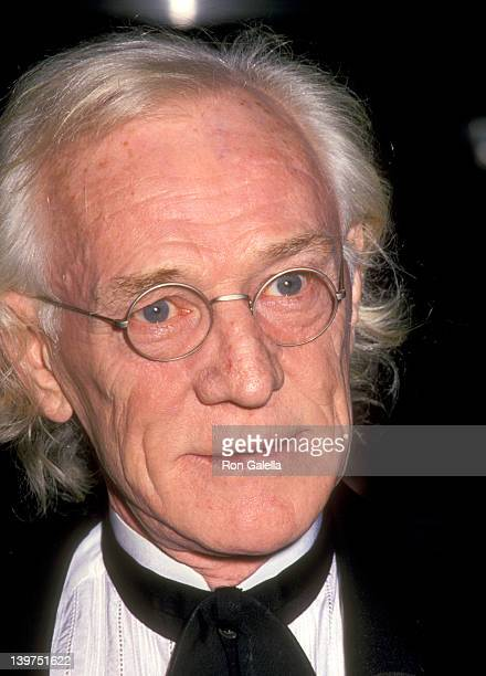Actor Richard Harris attends The Museum of Modern Art Department of Film and Video Hosts 'An Evening with Clint Eastwood' on October 27 1993 at The...