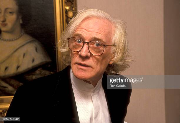 Actor Richard Harris attends the Third Annual BAFTA/LA Britannia Awards on March 17 1991 at Bel Age Hotel in West Hollywood California