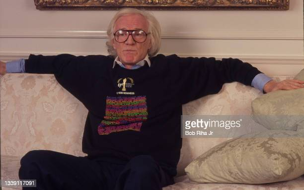 Actor Richard Harris during photo shoot, March 20, 1991 in Beverly Hills, California.