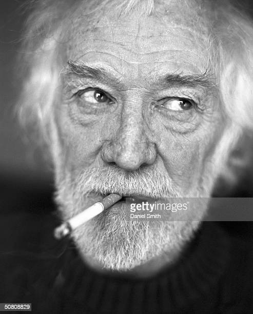 Actor Richard Harris photographed in his permanent suite in the Ritz Hotel on September 1 2001 in London