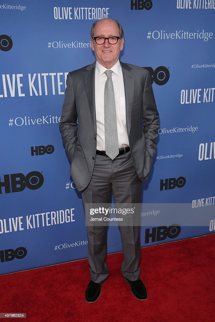Actor Richard Jenkins attends the 'Olive Kitteridge' New York Premiere at SVA Theater on October 27, 2014 in New York City.