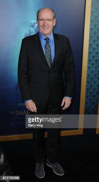 Actor Richard Jenkins attends the premiere of Fox Searchlight Pictures' 'The Shape Of Water' at the Academy Of Motion Picture Arts And Sciences on...