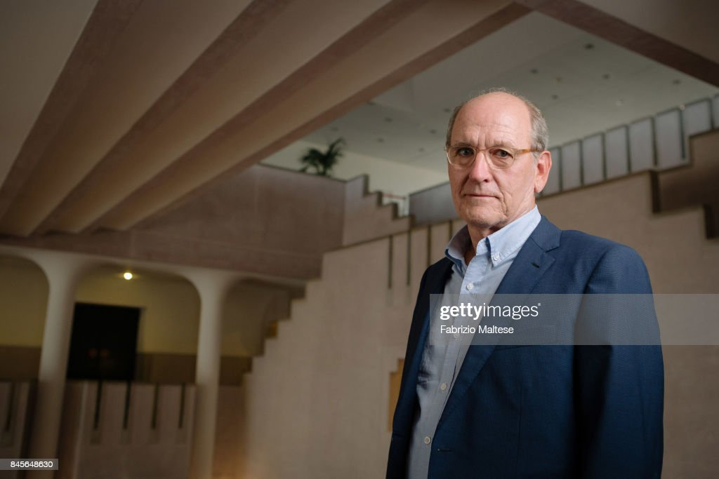 Actor Richard Jenkins is photographed on August 31, 2017 in Venice, Italy.