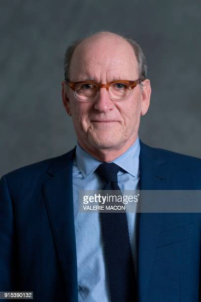 Actor Richard Jenkins poses for portraits during the Academy Awards annual nominees luncheon for the 90th Oscars at the Beverly Hilton California on...