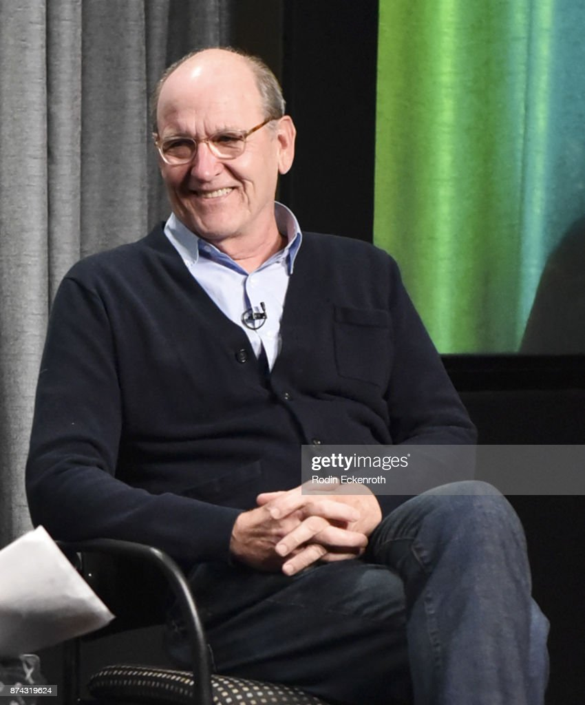 Actor Richard Jenkins speaks onstage at SAG-AFTRA Foundation Conversations at SAG-AFTRA Foundation Screening Room on November 14, 2017 in Los Angeles, California.