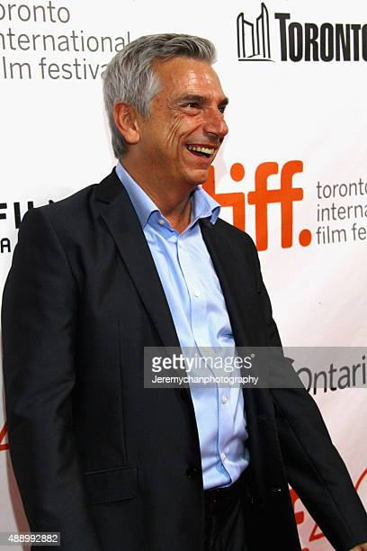 Actor Richard Jutras attends the Stonewall premiere during the 2015 Toronto International Film Festival held at Roy Thomson Hall on September 18 2015...