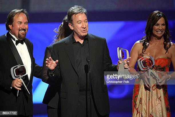 Actor Richard Karn Actor Tim Allen and Debbie Dunning onstage during the 7th Annual TV Land Awards held at Gibson Amphitheatre on April 19 2009 in...