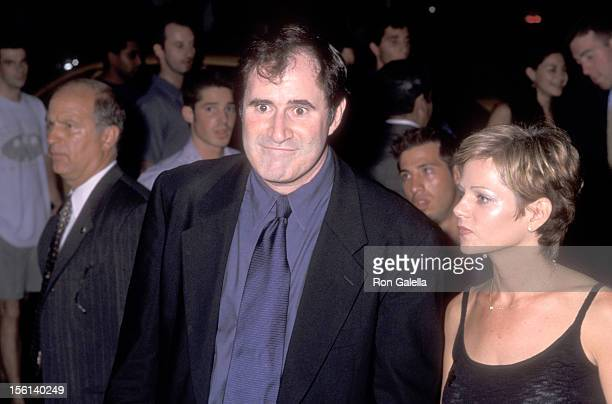 Actor Richard Kind and guest Dana Stanley attend the 16th Annual MTV Video Music Awards After Party hosted by Sony Music Records on September 9 1999...