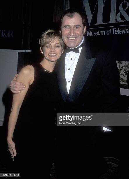 Actor Richard Kind and guest Dana Stanley attend The Museum of Television and Radios Honors Jack Paar on February 6 1997 at The WalorfAstorie Hotel...