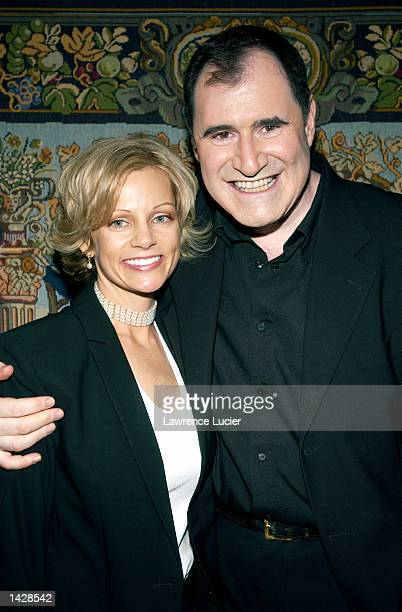 Actor Richard Kind and his wife Dana Stanley arrive at the preparty for the benefit concert of the musical Funny Girl September 23 at Madame...