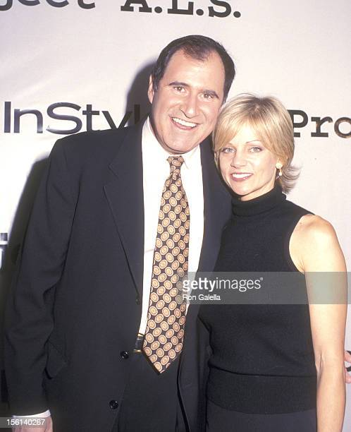 Actor Richard Kind and wife Dana Stanley attend the Fifth Annual 'Tomorrow is Tonight' Dinner and Auction to Benefit Project ALS on October 21 2002...