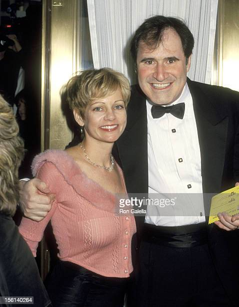 Actor Richard Kind and wife Dana Stanley attends 'The Music Man' Opening Night Performance on April 27 2000 at Neil Simon Theatre in New York City