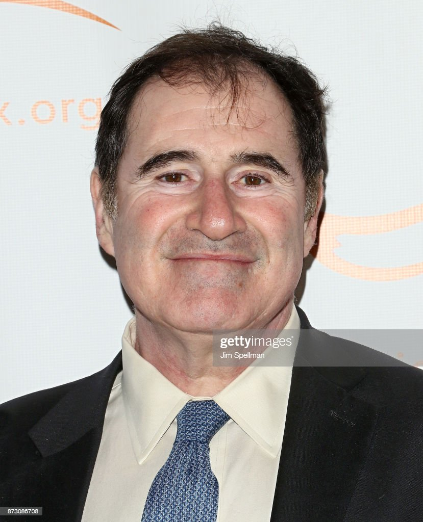 Actor Richard Kind attends the 2017 A Funny Thing Happened on the Way to Cure Parkinson's event at the Hilton New York on November 11, 2017 in New York City.