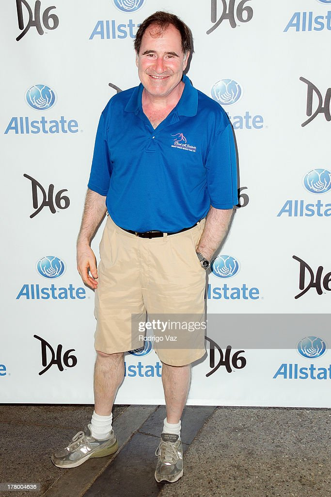 Actor Richard Kind attends the 2nd Annual Dennis Haysbert Humanitarian Foundation Celebrity Golf Classic at Lakeside Golf Club on August 26, 2013 in Burbank, California.