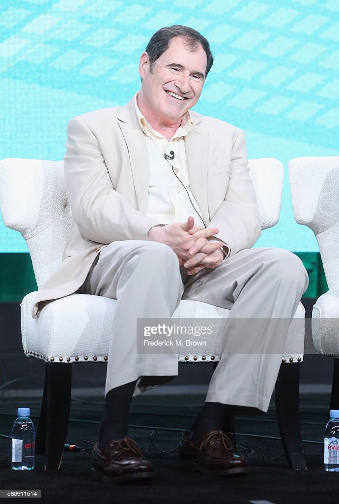 Actor Richard Kind speaks onstage at the 'Red Oaks' panel discussion during the Amazon portion of the 2016 Television Critics Association Summer Tour at The Beverly Hilton Hotel on August 7, 2016 in Beverly Hills, California.