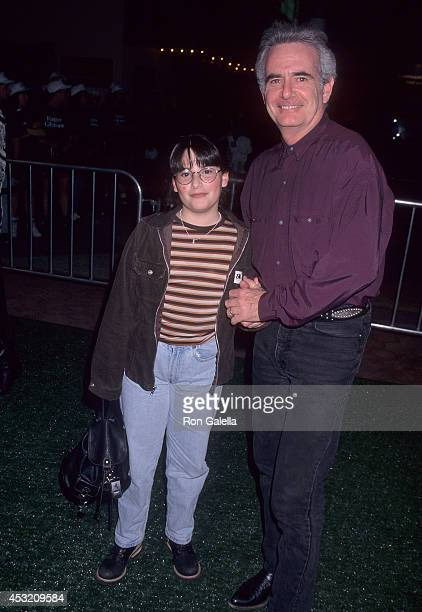 Actor Richard Kline and daughter Colby attend the Happy Gilmore Universal City Premiere on February 7 1996 at Cineplex Odeon Universal City Cinemas...