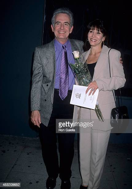 Actor Richard Kline and wife Sandy Molloy attend the Blank Theatre Company's Opening Night Production of Hello Again on April 17 1998 at the 2nd...