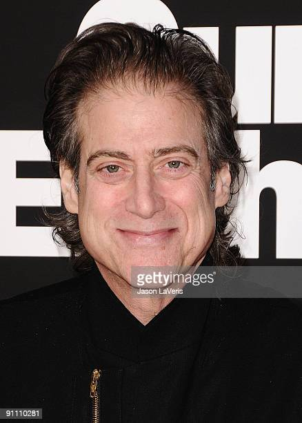 Actor Richard Lewis attends the 7th season premiere of HBO's Curb Your Enthusiasm at Paramount Theater on the Paramount Studios lot on September 15...