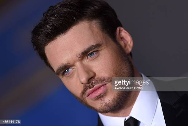 Actor Richard Madden arrives at the World Premiere of Disney's 'Cinderella' at the El Capitan Theatre on March 1 2015 in Hollywood California