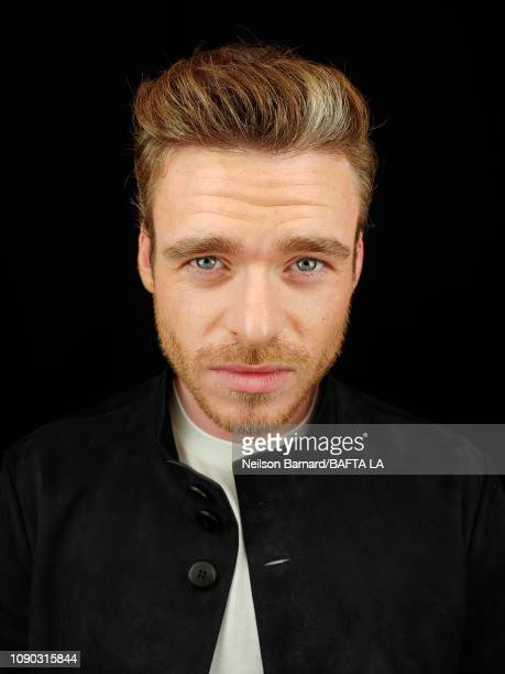 Actor Richard Madden attends the portrait studio at Four Seasons Hotel Los Angeles at Beverly Hills on January 05 2019 in Los Angeles California