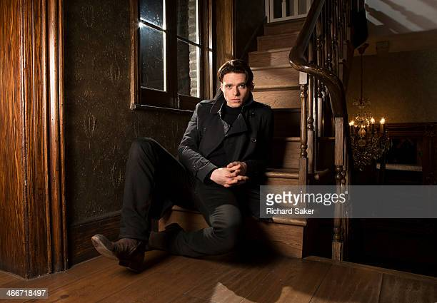 Actor Richard Madden is photographed for the Observer on November 21 2013 in London England