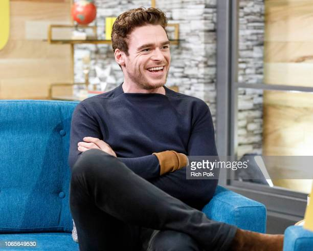 Actor Richard Madden visits 'The IMDb Show' on November 5 2018 in Studio City California This episode of 'The IMDb Show' airs on November 15 2018