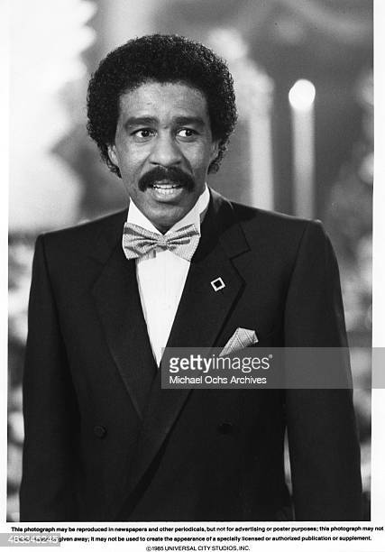 Actor Richard Pryor in a scene from the movie Brewster's Millions which was released on May 22 1985