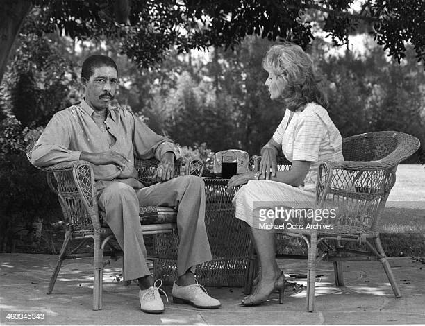 Actor Richard Pryor is interviewed by Barbara Walters in the day he got out of the hospital after accidentally lighting himself onfire in 1980.