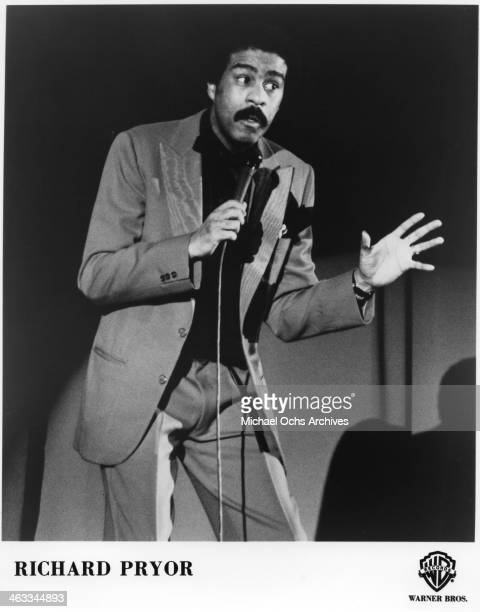 Actor Richard Pryor performs onstage in circa 1975