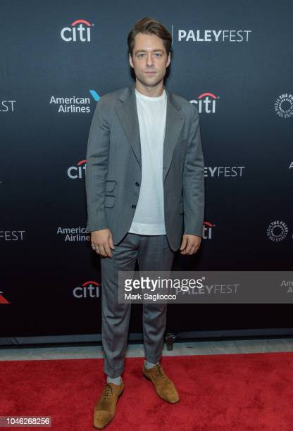 Actor Richard Rankin attend the Outlander 2018 Paleyfest NY at The Paley Center for Media on October 5 2018 in New York City