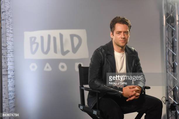 Actor Richard Rankin attends a BUILD series event at BUILD Studio London on September 7, 2017 in London, England.